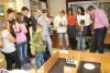 участники V-ых открытых соревнований роботов-пожарных в г.Волгодонске